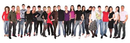 young people group twenty two photo