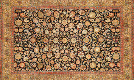 wool rugs: oriental carpet