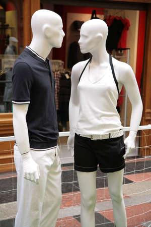man and woman mannequins Stock Photo - 5106024