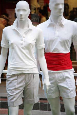 two men mannequin Stock Photo - 5103496