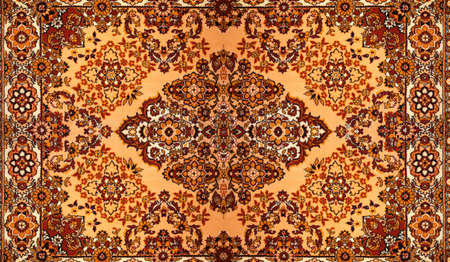 oriental rug: Carpet with pattern