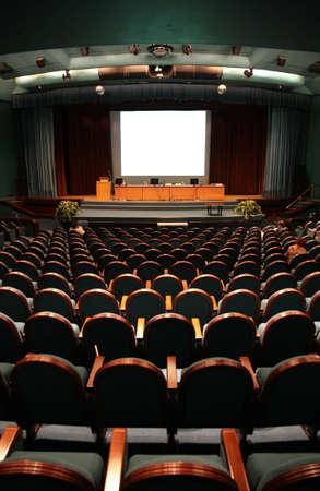 chairs in auditorium Stock Photo - 5102506