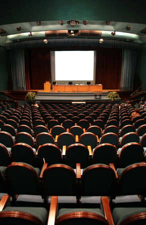 chairs in auditorium Stock Photo - 5102506