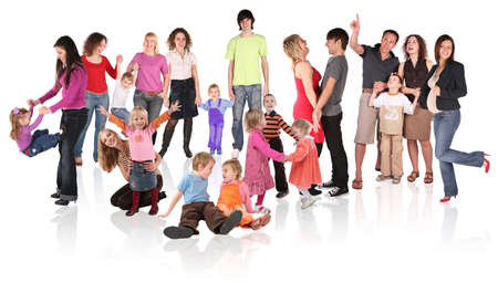 family collage Stock Photo - 5218718