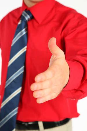Hand shake Stock Photo - 5107329