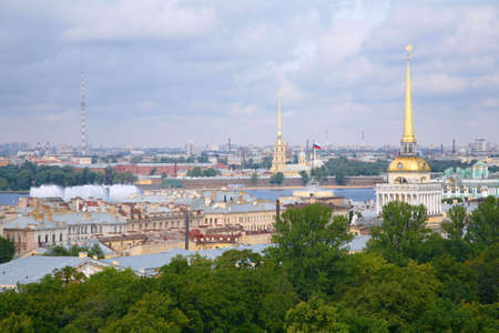 View of historic centre of St.Petersburg Stock Photo - 5107361