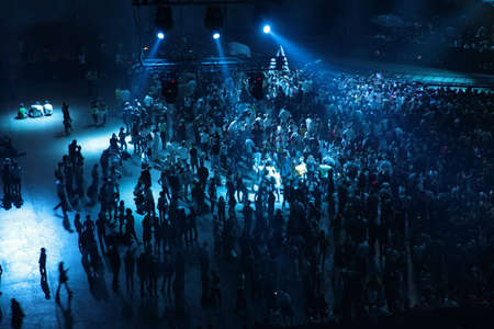 people on concert photo