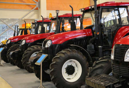 Tractors on exhibition Stock Photo - 5107647