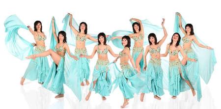 bailarinas arabes: bellydance har�n collage Foto de archivo
