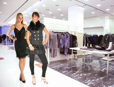 woman in Clothes boutique Stock Photo - 5155551