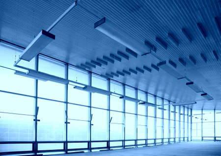 Empty glass hall Stock Photo - 5321359