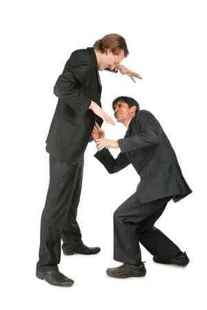 imminence: Un hombre de negocios asusta otro
