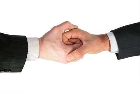 Two linked hands Stock Photo - 5360211