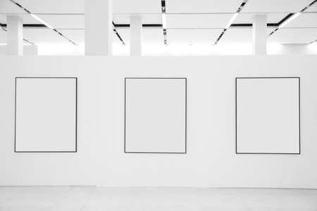 gallerie: Three frames in showroom