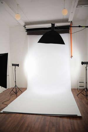 Photographic studio interior photo