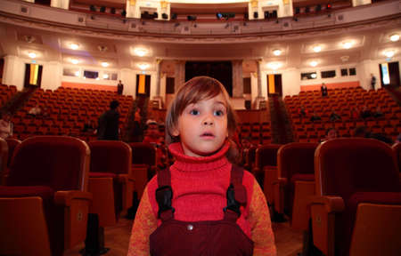 viewers: Child in theater