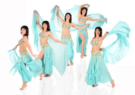 bellydance harem collage Stock Photo - 5364515