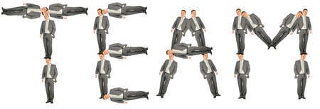 business team word collage Stock Photo - 5320287