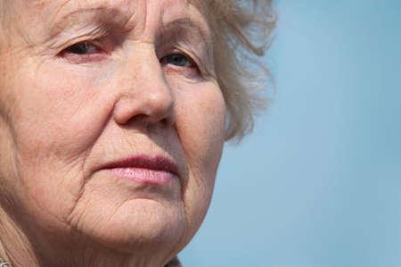 Closeup portrait of elderly woman Stock Photo - 5361207