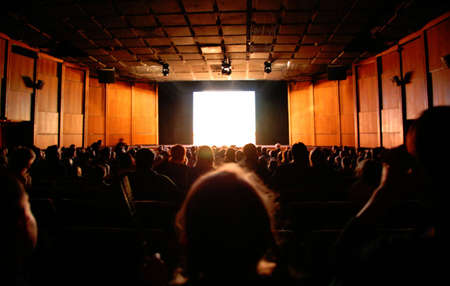 in cinema Stock Photo - 5352306