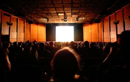 in cinema Stock Photo - 5352306
