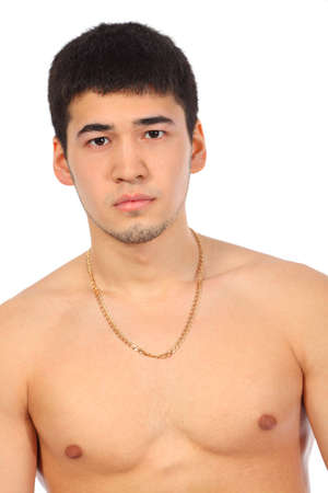 Young asian topless man Stock Photo - 5365579