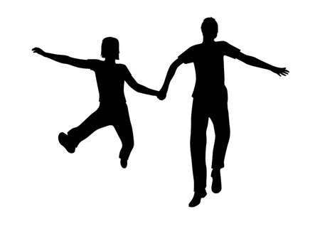 full strenght: vector jumping couple