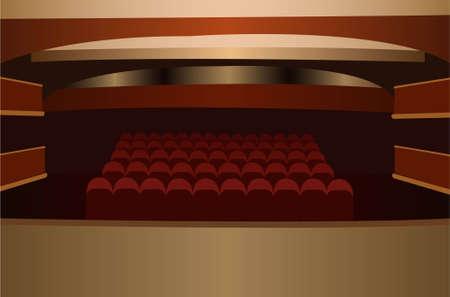 theater scene vector Stock Vector - 6624572