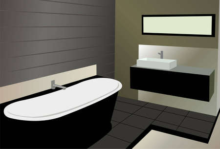 bathroom vector Vector
