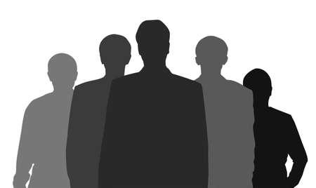 gang member: business team vector