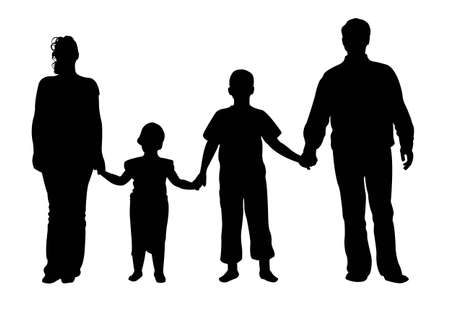 familia de cuatro vectores