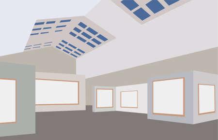 art museum: art gallery vector