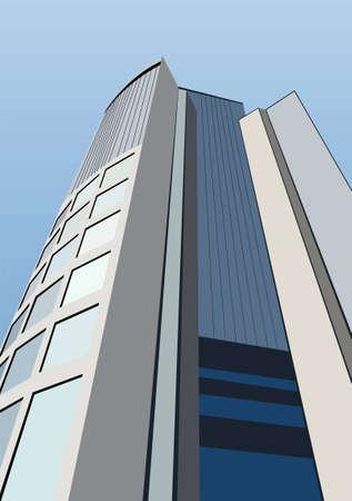 edifice: vector office building