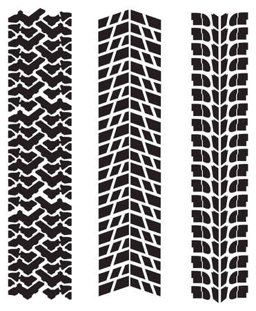 tyre tread: vector tire