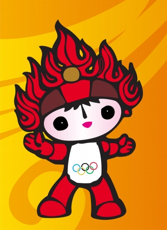 vector olympic symbol. China