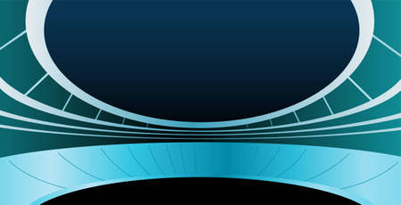 stadium vector Stock Vector - 6629001