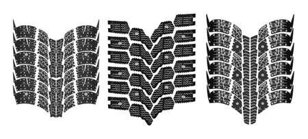 tire print high resolution vector Stock Vector - 6629907