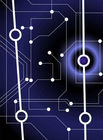 network vector Vector