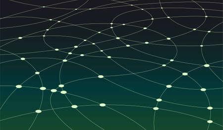 scheme connection Vector