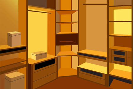 cloackroom vector Stock Vector - 6628969