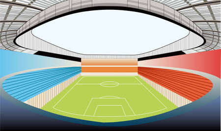 stadium vector Stock Vector - 6624504