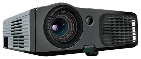 projector screen: proiettore Vettoriali