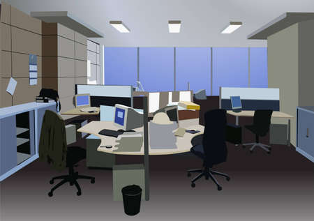 office vector Vector