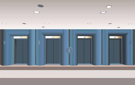 4 door: lifts Illustration