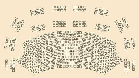 theater seats: theater scheme