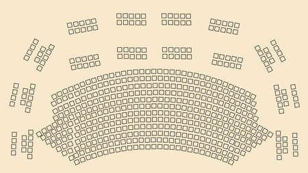 theater scheme Stock Vector - 6628885