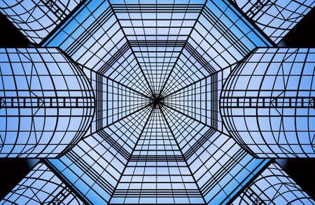 glass roof vector Stock Vector - 6624607