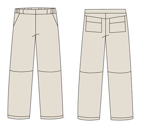 trousers vector Vector