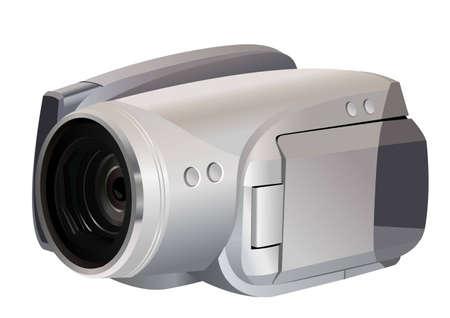 video camera vector Stock Vector - 6624488