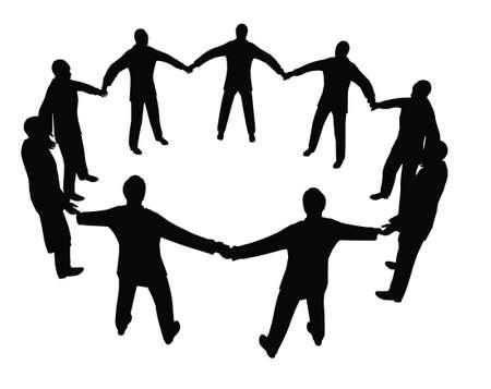 socialism: busines people circle 2